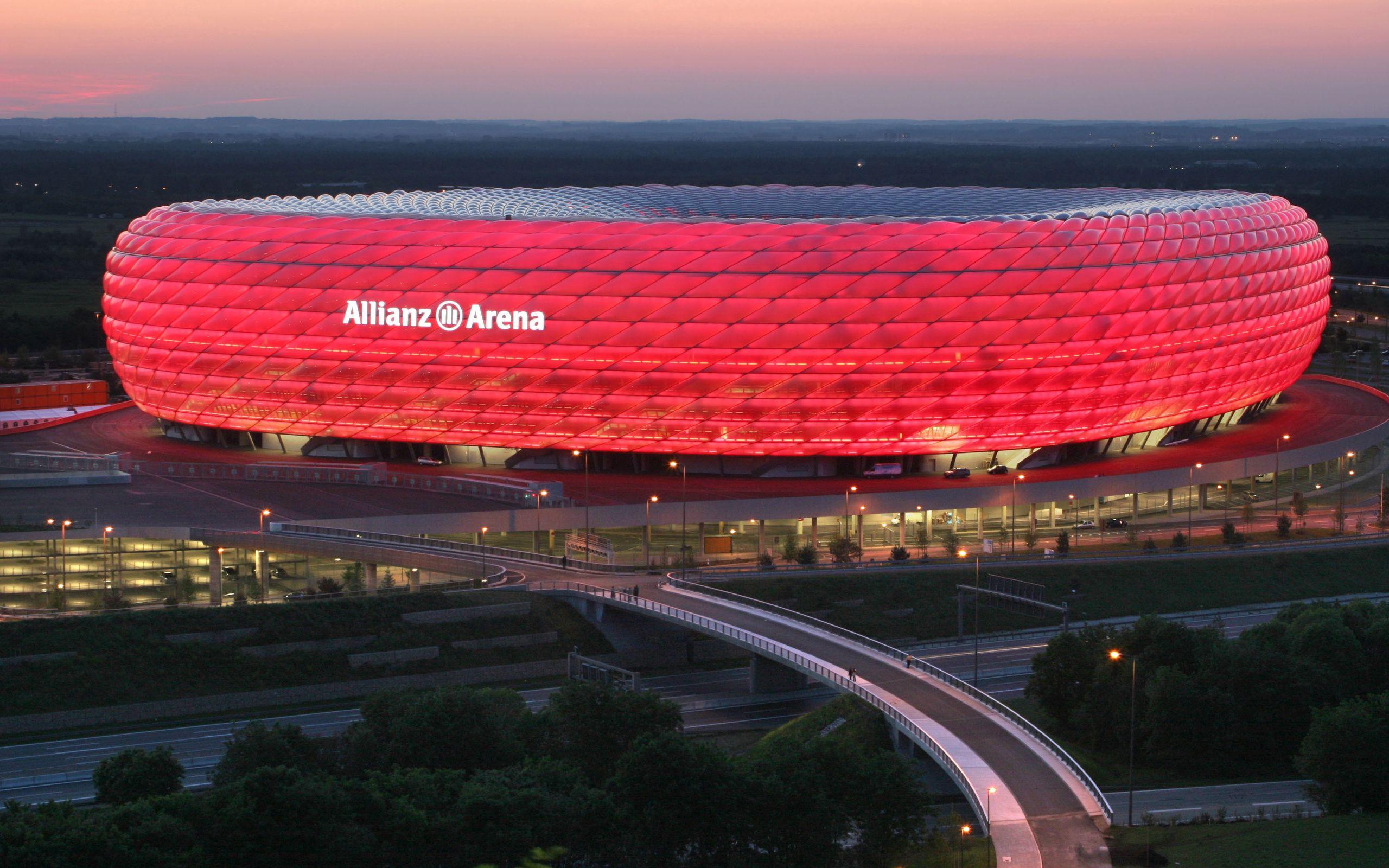 157898 скачать обои Спорт, Мюнхен, Германия, Allianz Arena, Munich, Stadium, Germany, Альянц Арена - заставки и картинки бесплатно