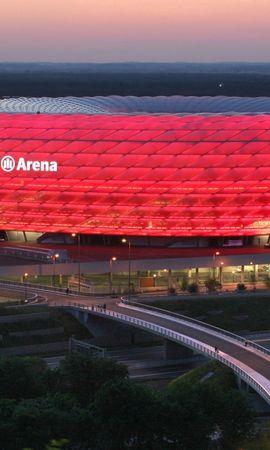 157898 Заставки і шпалери Спорт на телефон. Завантажити Спорт, Мюнхен, Німеччина, Allianz Arena, Стадіон
