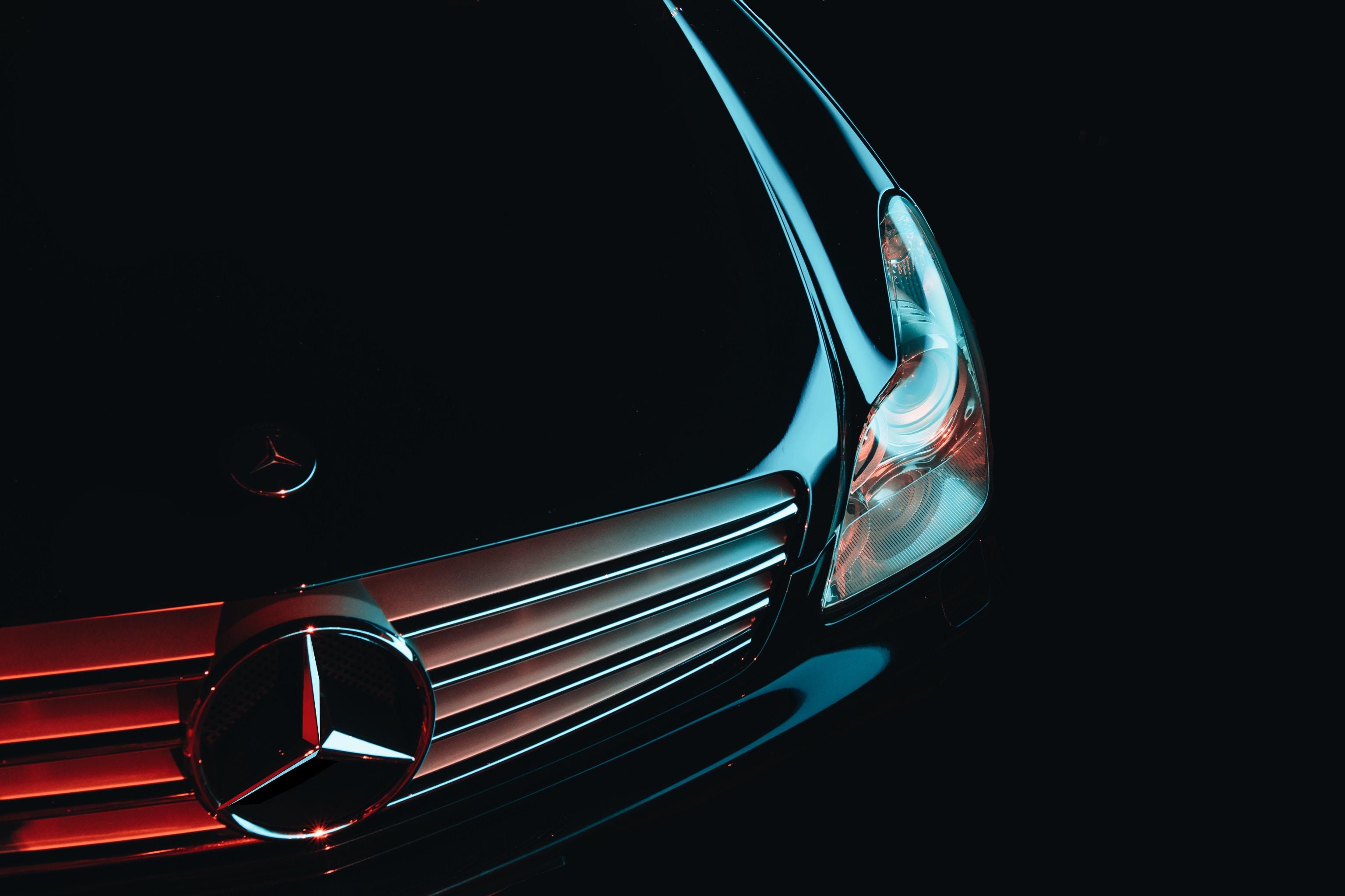 79086 descargar fondo de pantalla Coches, Mercedes, Parachoques Delantero, Faro: protectores de pantalla e imágenes gratis