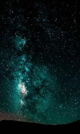 121463 Screensavers and Wallpapers Dark for phone. Download Dark, Starry Sky, Milky Way, Night, Shining, Galaxy pictures for free
