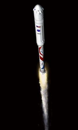 123531 скачать обои Ракета-Носитель, Корпус, Полет, Космос - заставки и картинки бесплатно