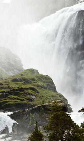 30637 télécharger le fond d'écran Paysage, Montagnes, Cascades - économiseurs d'écran et images gratuitement