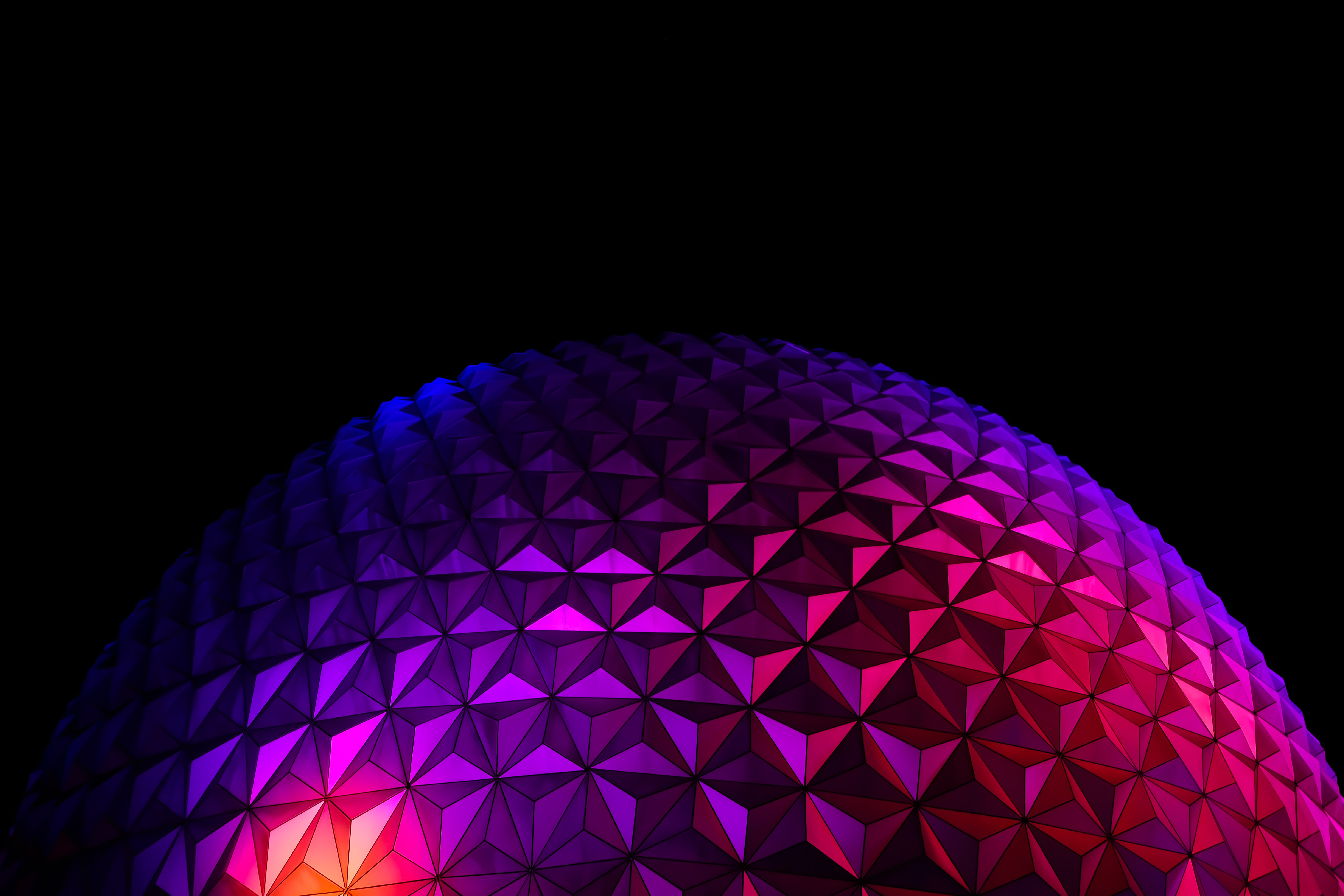 153509 download wallpaper Miscellanea, Violet, Miscellaneous, Surface, Relief, Ball, Purple, Gradient screensavers and pictures for free
