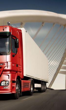 39050 descargar fondo de pantalla Transporte, Automóvil, Mercedes, Camiones: protectores de pantalla e imágenes gratis