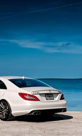144337 télécharger le fond d'écran Voitures, Mercedes-Benz, Vue Arrière, Mercedes, Cls63, Amg - économiseurs d'écran et images gratuitement