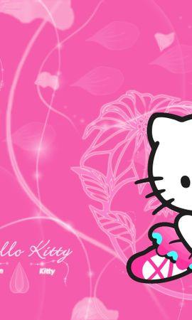 11564 скачать обои Бренды, Логотипы, Рисунки, Hello Kitty - заставки и картинки бесплатно