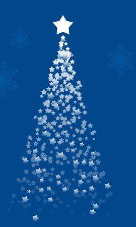 2210 télécharger le fond d'écran Fêtes, Etoiles, Nouvelle Année, Sapins, Noël, Dessins - économiseurs d'écran et images gratuitement