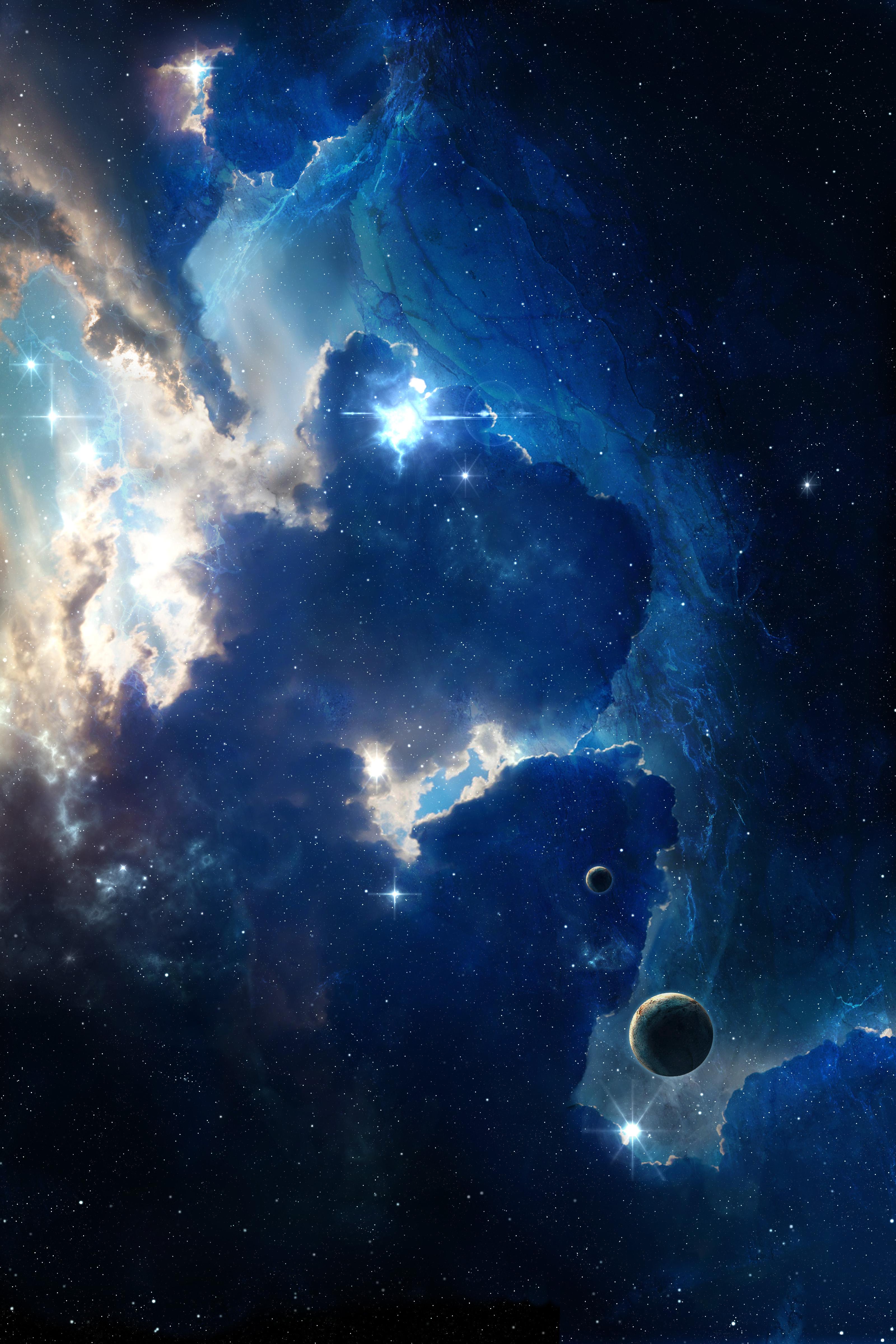 135487 fond d'écran 540x960 sur votre téléphone gratuitement, téléchargez des images Univers, Etoiles, Shining, Nébuleuse, Galaxie 540x960 sur votre mobile