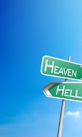 27715 скачать обои Фон, Небо, Знаки - заставки и картинки бесплатно