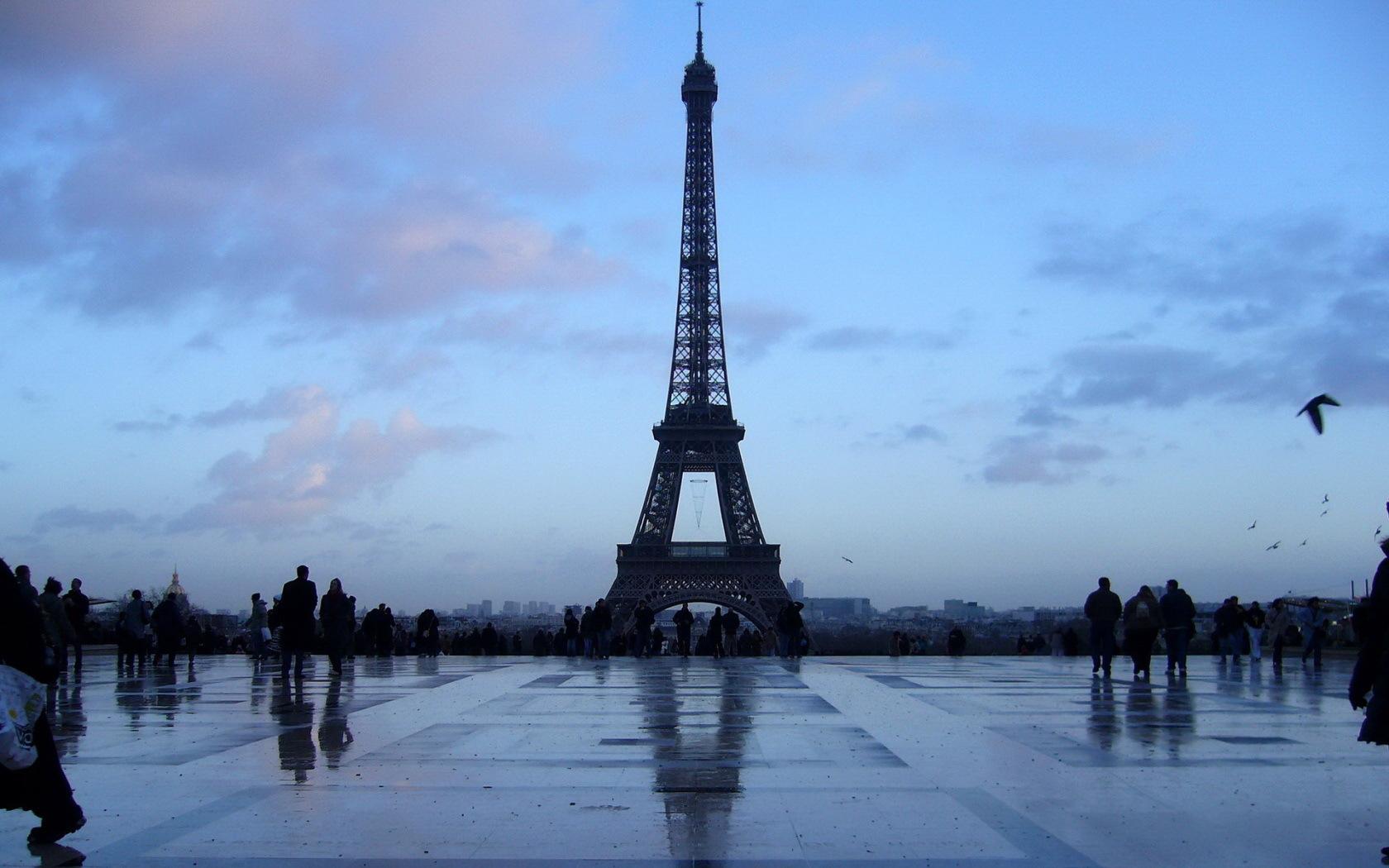 11054 скачать обои Пейзаж, Города, Архитектура, Париж, Эйфелева Башня - заставки и картинки бесплатно