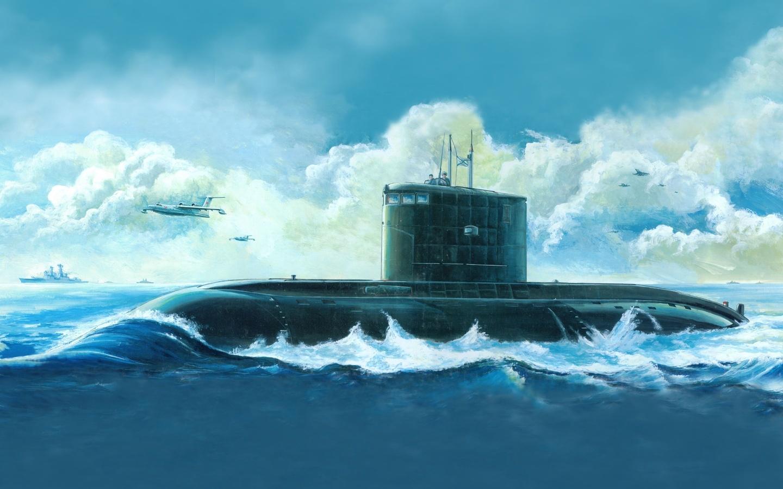 20300 скачать обои Корабли, Море, Рисунки - заставки и картинки бесплатно