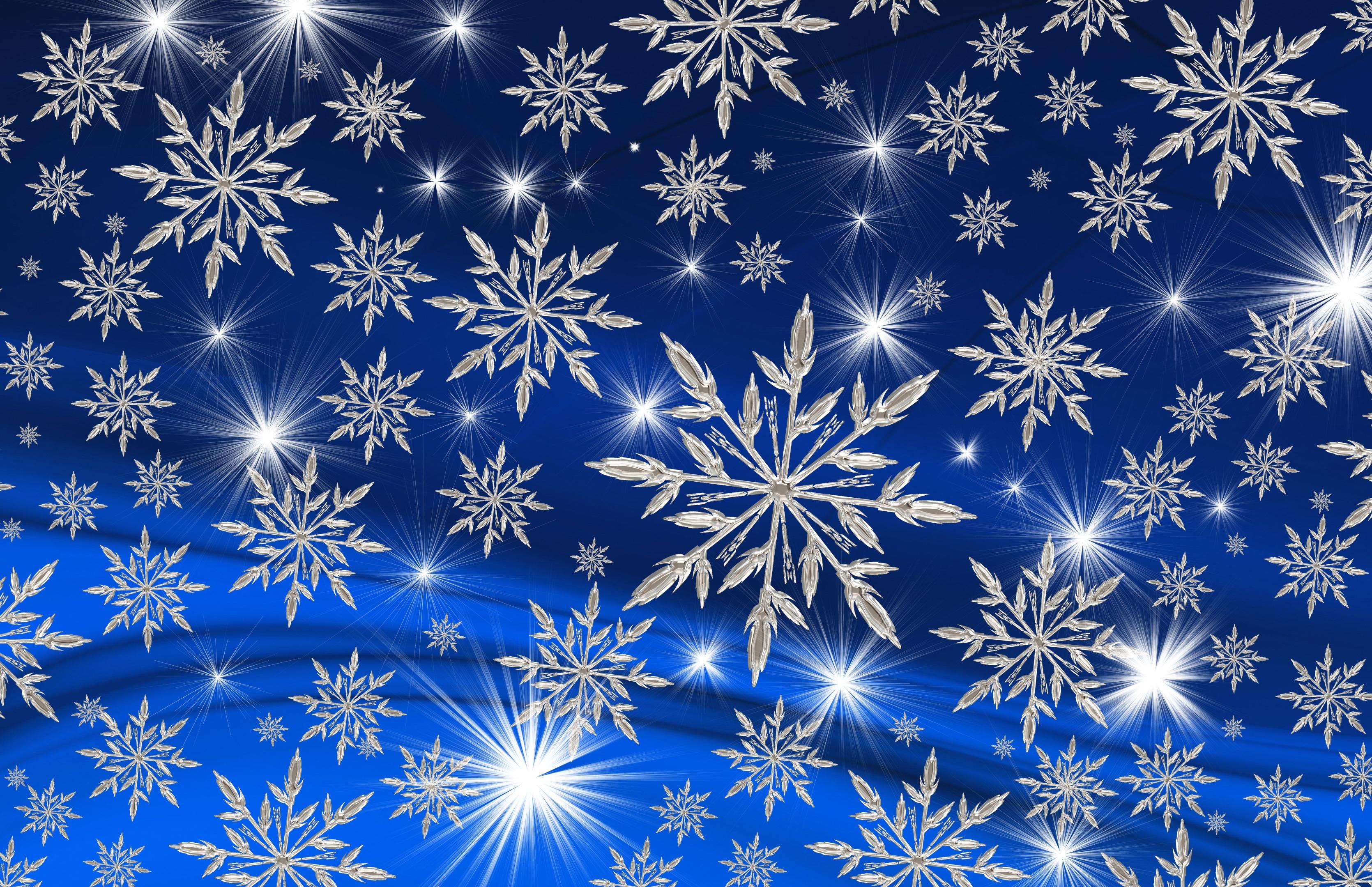 135490 скачать обои Зима, Праздники, Арт, Новый Год, Снежинки, Рождество - заставки и картинки бесплатно