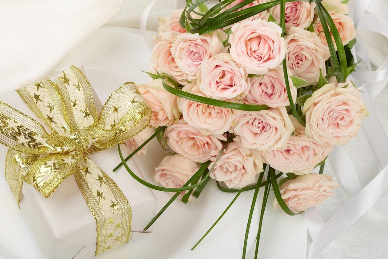 22232 télécharger le fond d'écran Fêtes, Plantes, Fleurs, Roses, Bouquets, Mariage - économiseurs d'écran et images gratuitement