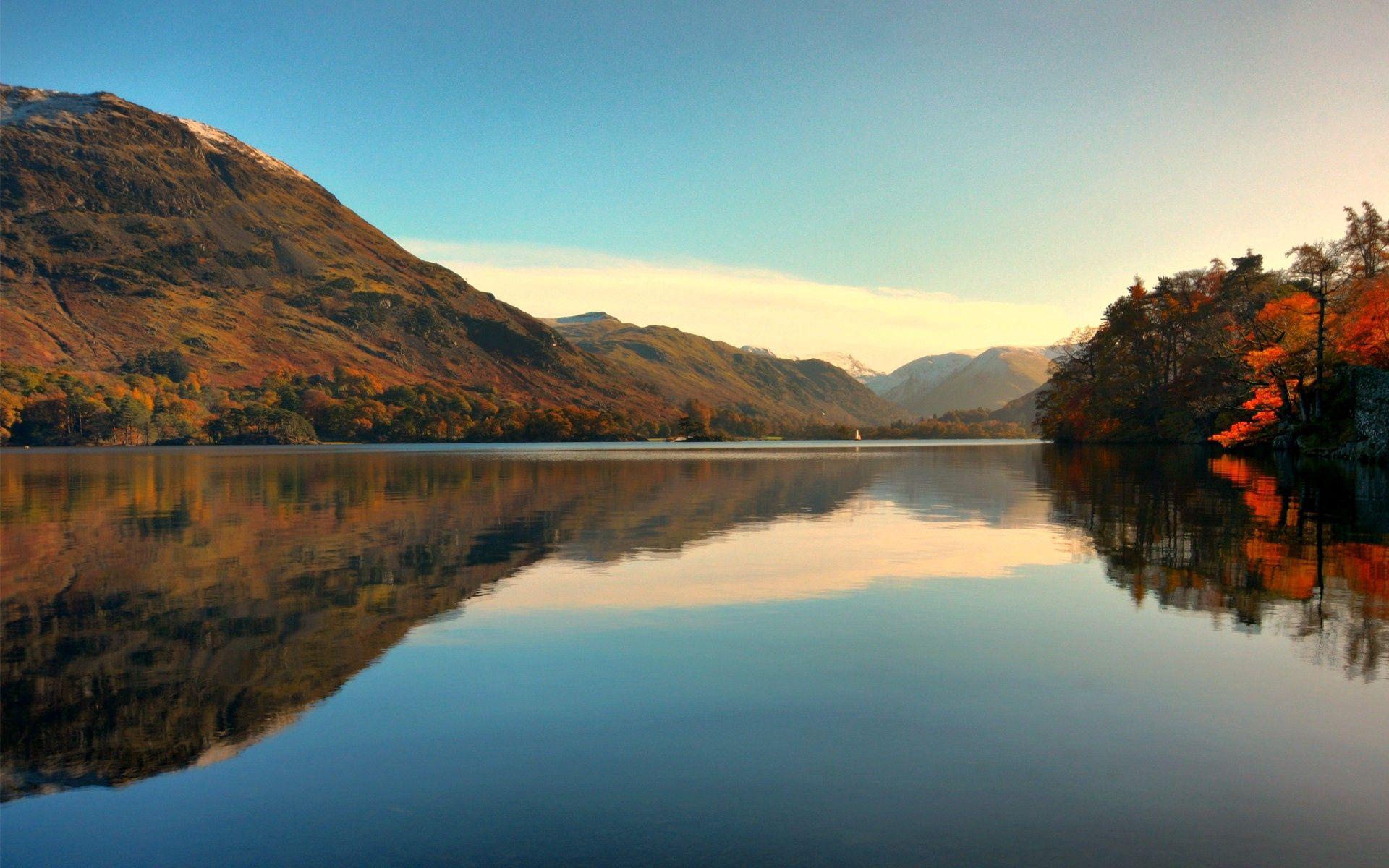 95506 免費下載壁紙 地平线, 性质, 湖, 湖景, 树, 山 屏保和圖片