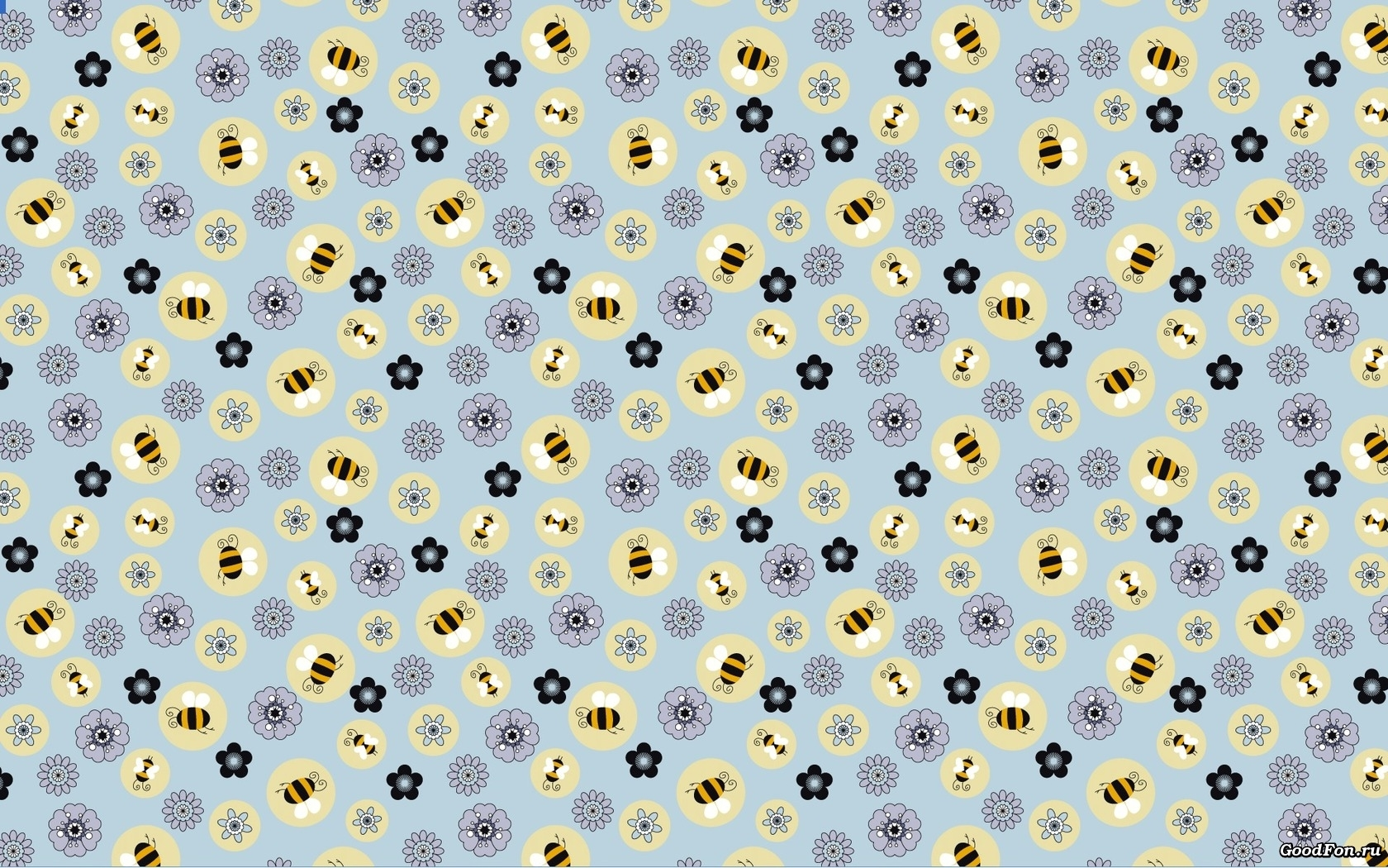 24966 Screensavers and Wallpapers Bees for phone. Download Flowers, Background, Bees pictures for free