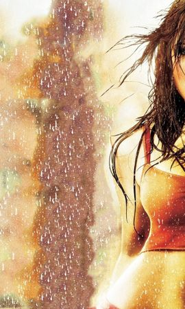 21369 download wallpaper Cinema, People, Girls, Actors, Rain screensavers and pictures for free