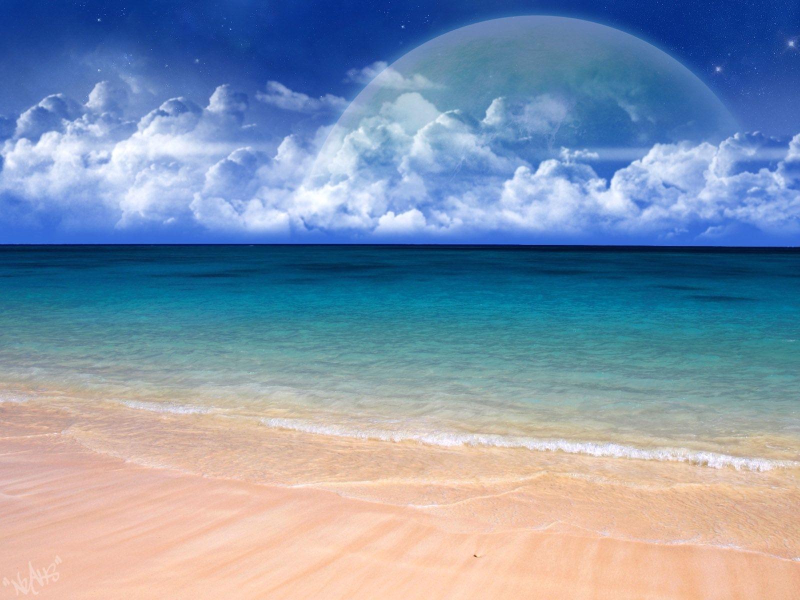 310壁紙のダウンロード風景, 水, スカイ, 海, ビーチ-スクリーンセーバーと写真を無料で
