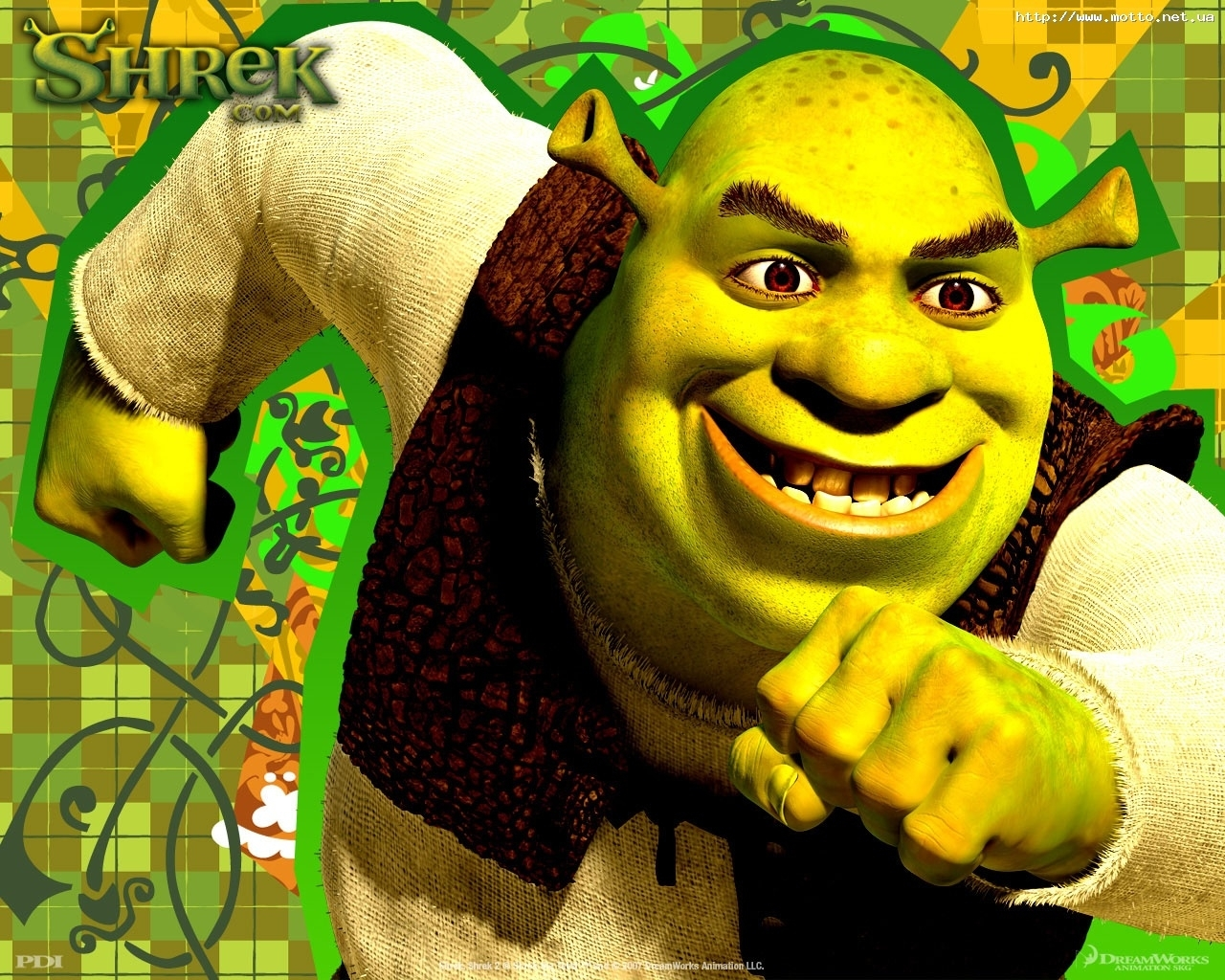 5078 download wallpaper Cartoon, Shrek screensavers and pictures for free