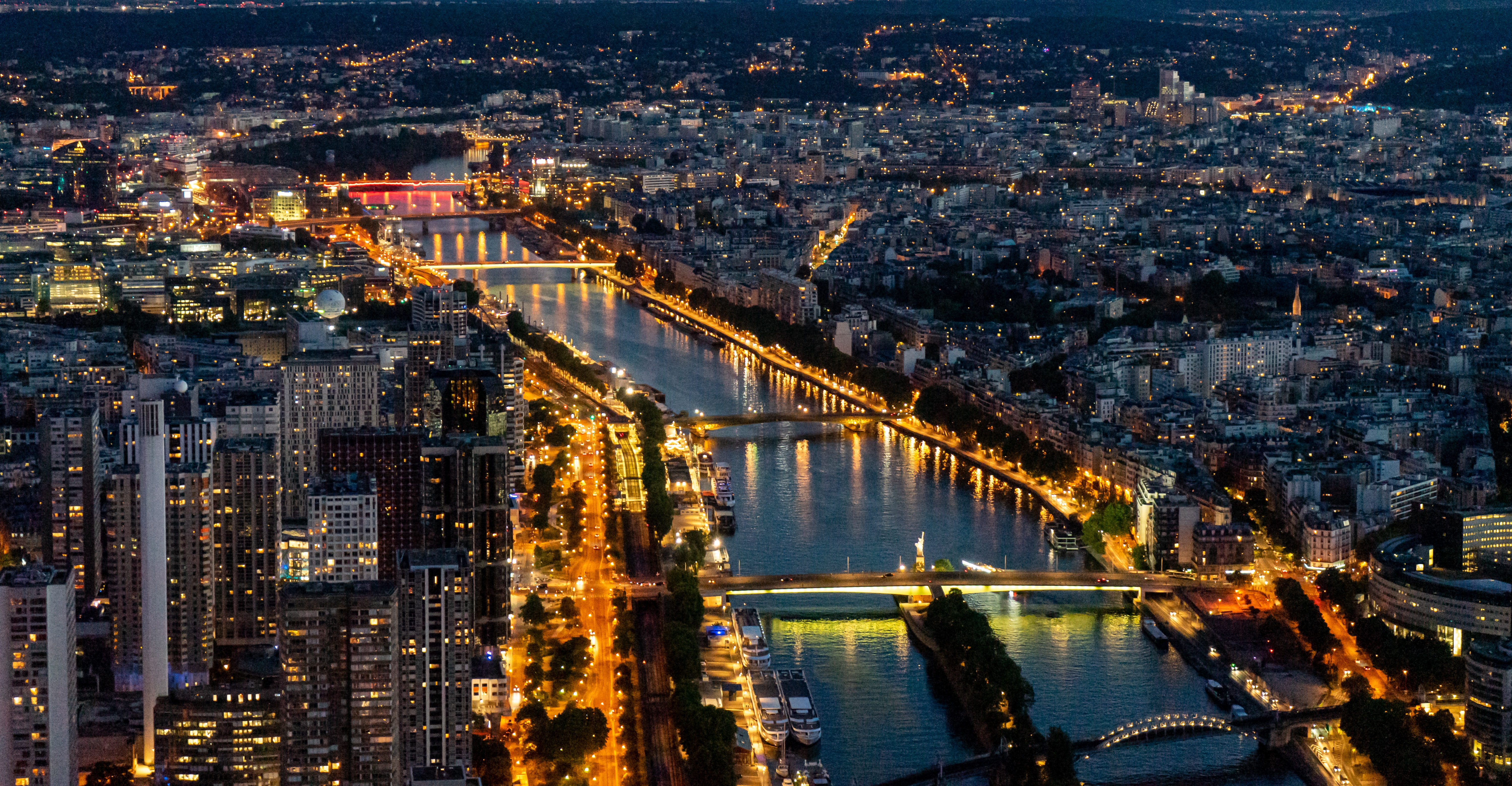 156782 download wallpaper Cities, Bridges, City, Building, Lights, Night City screensavers and pictures for free