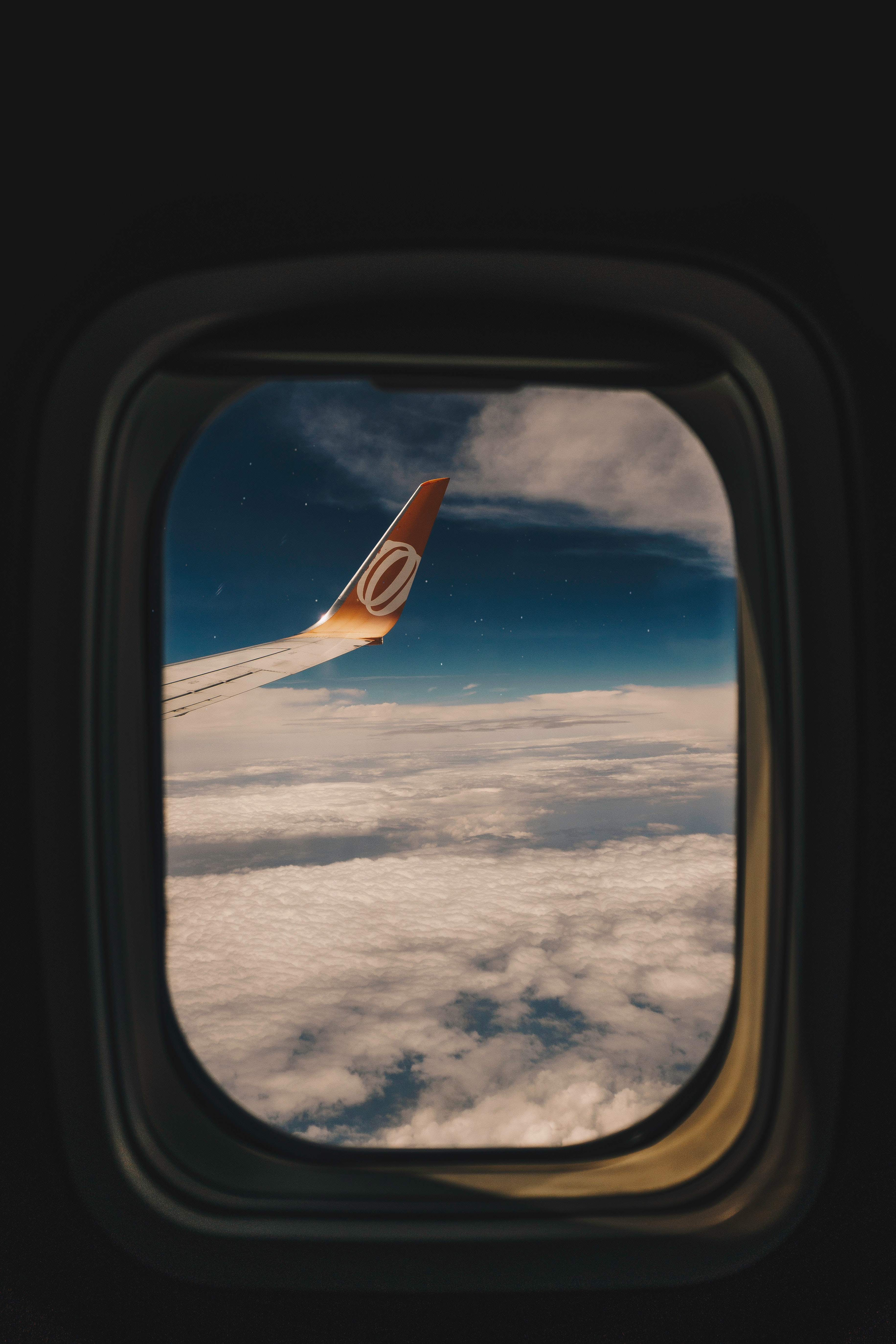 112690 download wallpaper Miscellanea, Miscellaneous, Porthole, Window, Airplane Wing, Wing Of The Plane, Flight, Clouds screensavers and pictures for free