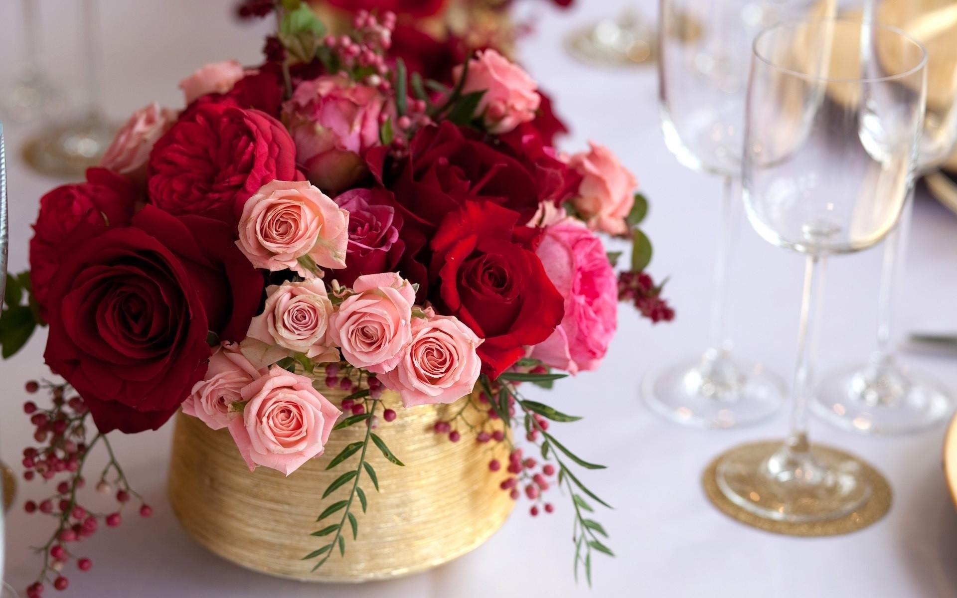 38333 télécharger le fond d'écran Plantes, Fleurs, Roses, Bouquets - économiseurs d'écran et images gratuitement