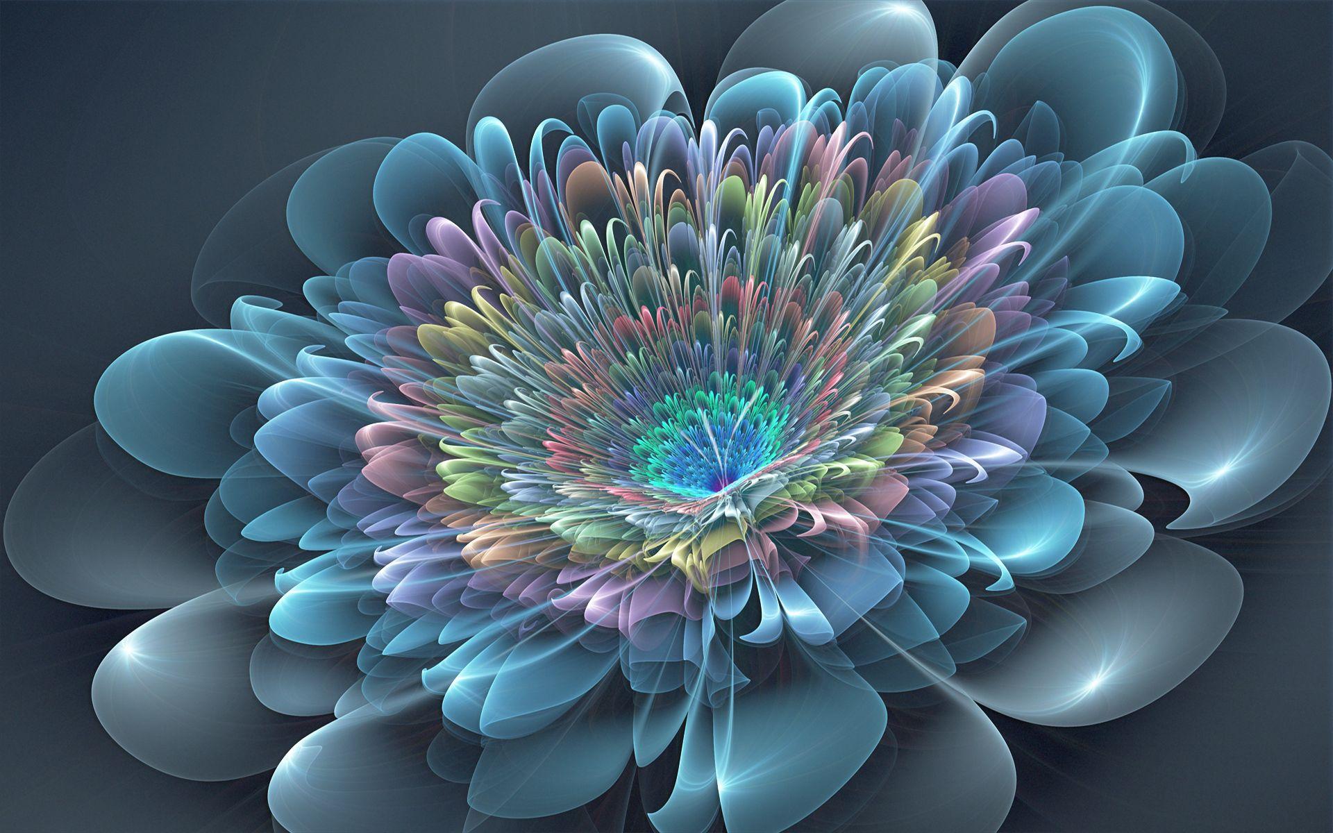 146856 завантажити шпалери Абстракція, Квітка, Пелюстки, Фрактал, Фон - заставки і картинки безкоштовно