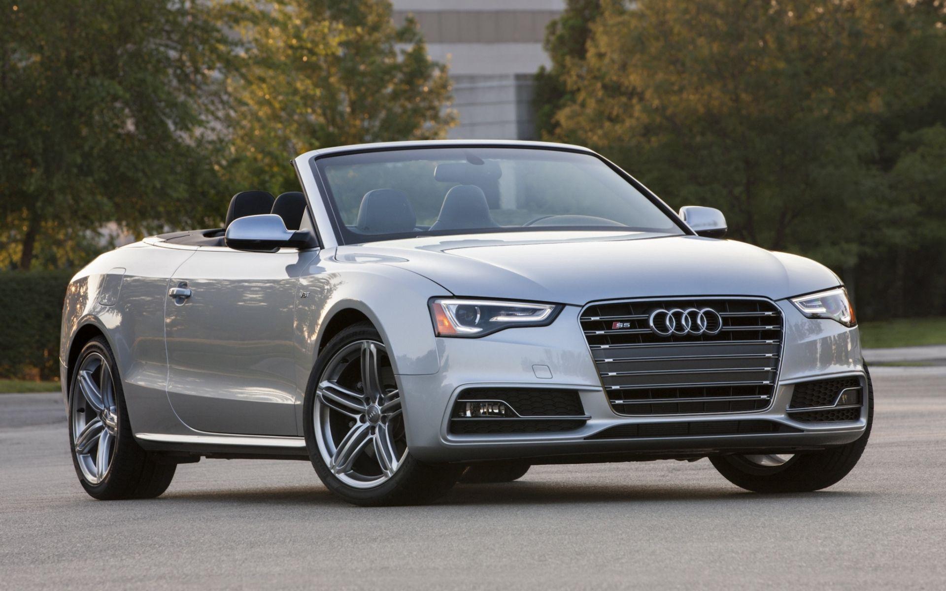 92255 Заставки и Обои Ауди (Audi) на телефон. Скачать Ауди (Audi), Тачки (Cars), Вид Спереди, Серый, Кабриолет, S5 картинки бесплатно