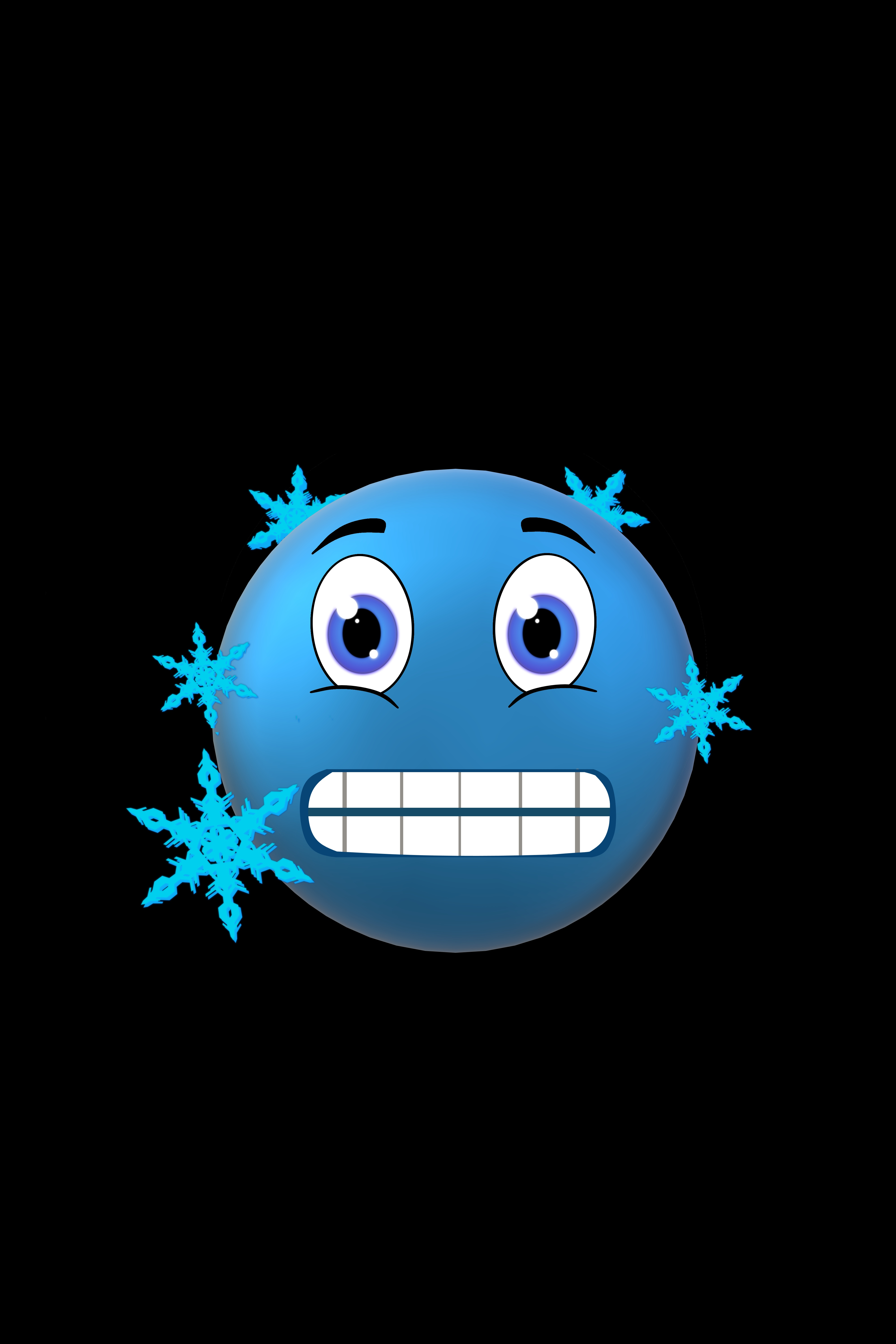 91856 Screensavers and Wallpapers Emoticon for phone. Download Smiley, Snowflakes, Vector, Frost, Cold, Emoticon pictures for free