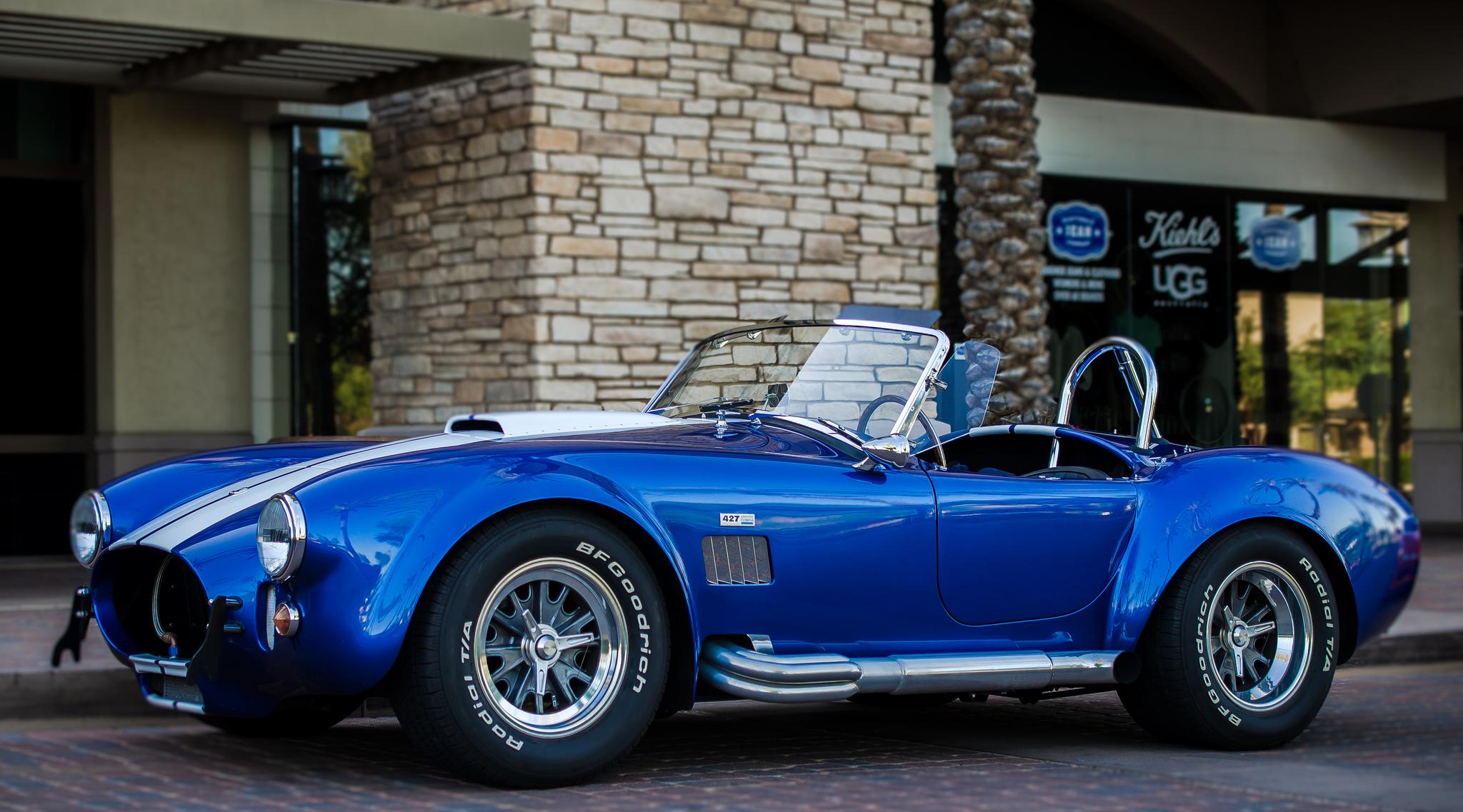 98266 скачать обои Кобра (Cobra), Тачки (Cars), Вид Сбоку, Shelby, Кабриолет, 427 - заставки и картинки бесплатно