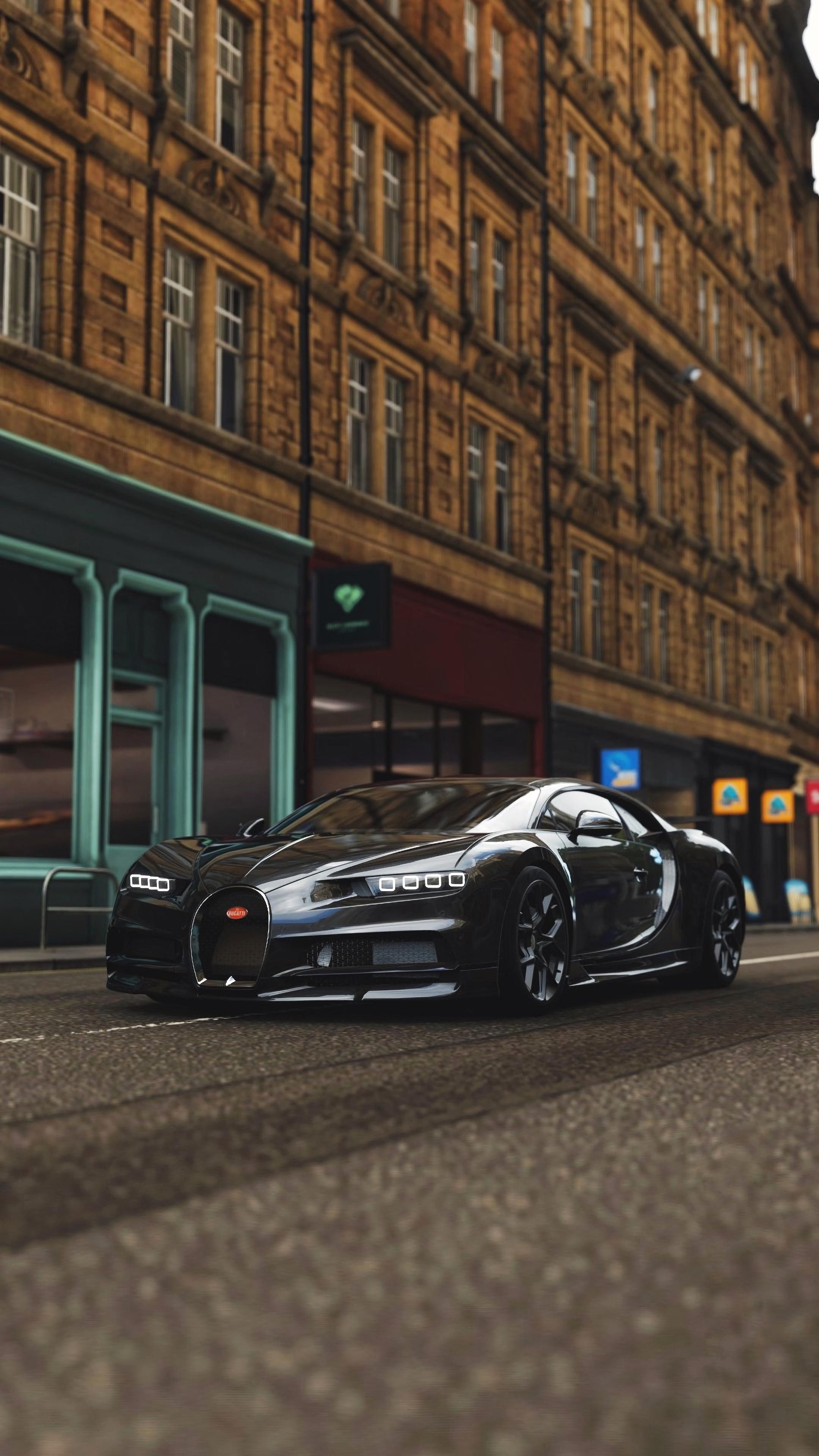 110836 download wallpaper Cars, Bugatti Chiron, Bugatti, Sports Car, Sports, Supercar screensavers and pictures for free