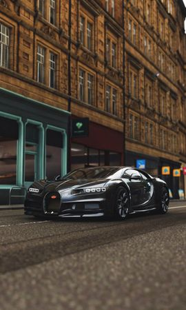 110836 Screensavers and Wallpapers Sports for phone. Download Cars, Bugatti Chiron, Bugatti, Sports Car, Sports, Supercar pictures for free