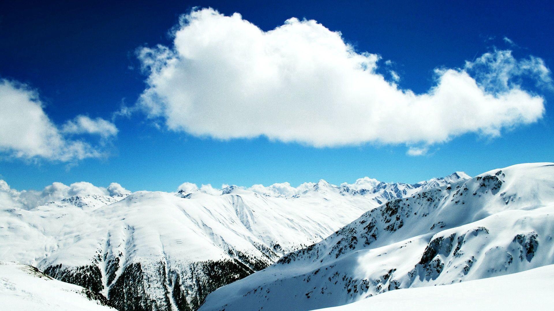 136678 descargar fondo de pantalla Naturaleza, Descendencia, Linaje, Esquí, Recurso, Recurrir, Nieve, Montañas: protectores de pantalla e imágenes gratis