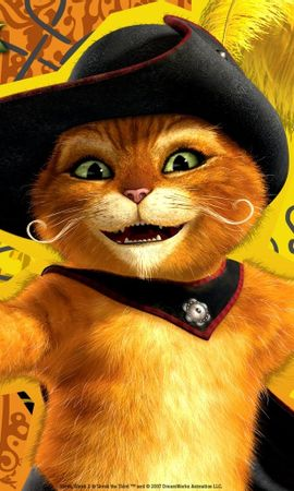 2623 download wallpaper Cartoon, Animals, Cats, Shrek screensavers and pictures for free