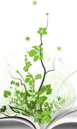 23329 скачать обои Растения, Фон, Книги - заставки и картинки бесплатно