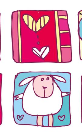 69164 скачать обои Праздники, Любовь, День Валентина, Рисунок, Сердце - заставки и картинки бесплатно