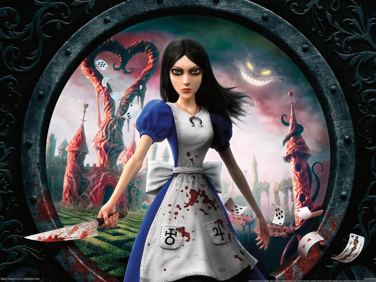 22538 скачать обои Игры, Алиса: Безумие Возвращается (Alice: Madness Returns) - заставки и картинки бесплатно
