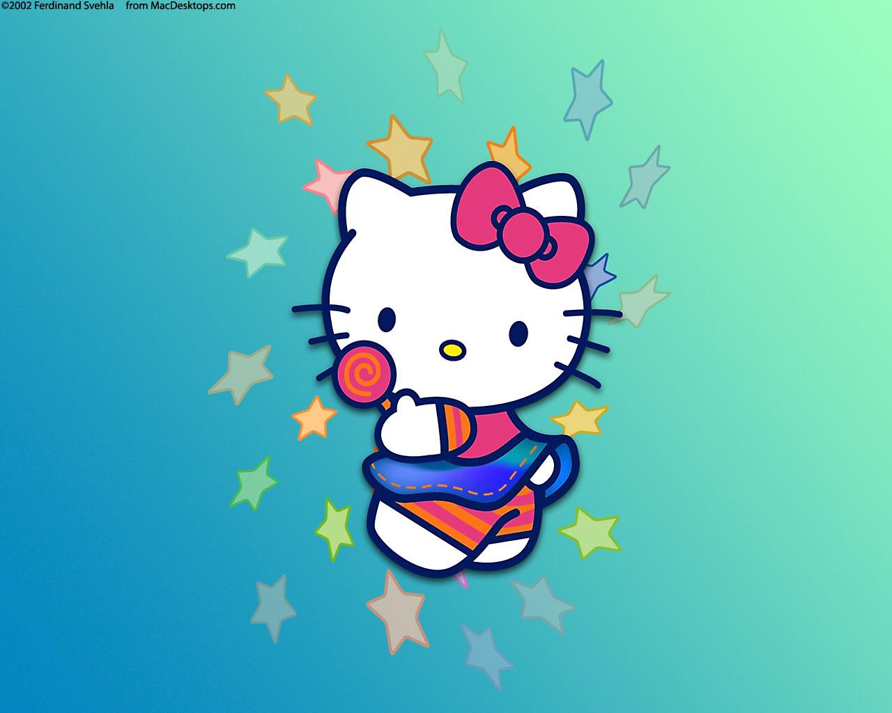 11177 скачать обои Hello Kitty, Рисунки - заставки и картинки бесплатно