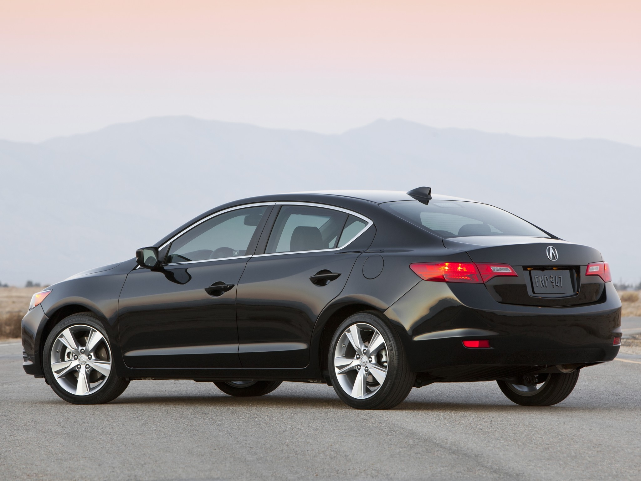 127802 download wallpaper Cars, Acura, Ilx, 2012, Sedan, Style, Side View, Auto, Mountains screensavers and pictures for free
