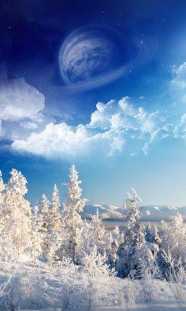 32243 скачать обои Пейзаж, Зима, Артфото - заставки и картинки бесплатно