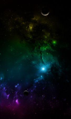 135188 Protetores de tela e papéis de parede Planetas em seu telefone. Baixe Galáxia, Universo, Multicolorido, Motley, Planetas fotos gratuitamente