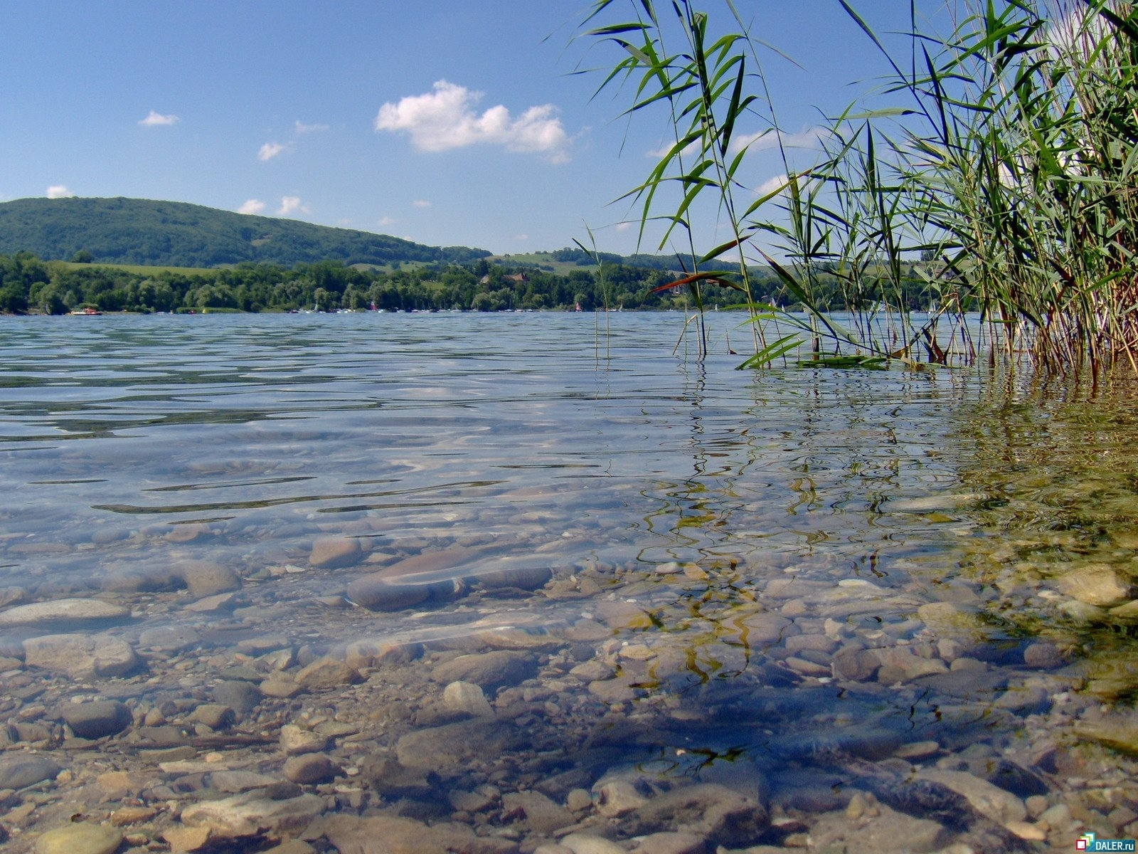 2612 download wallpaper Landscape, Water, Stones, Lakes screensavers and pictures for free