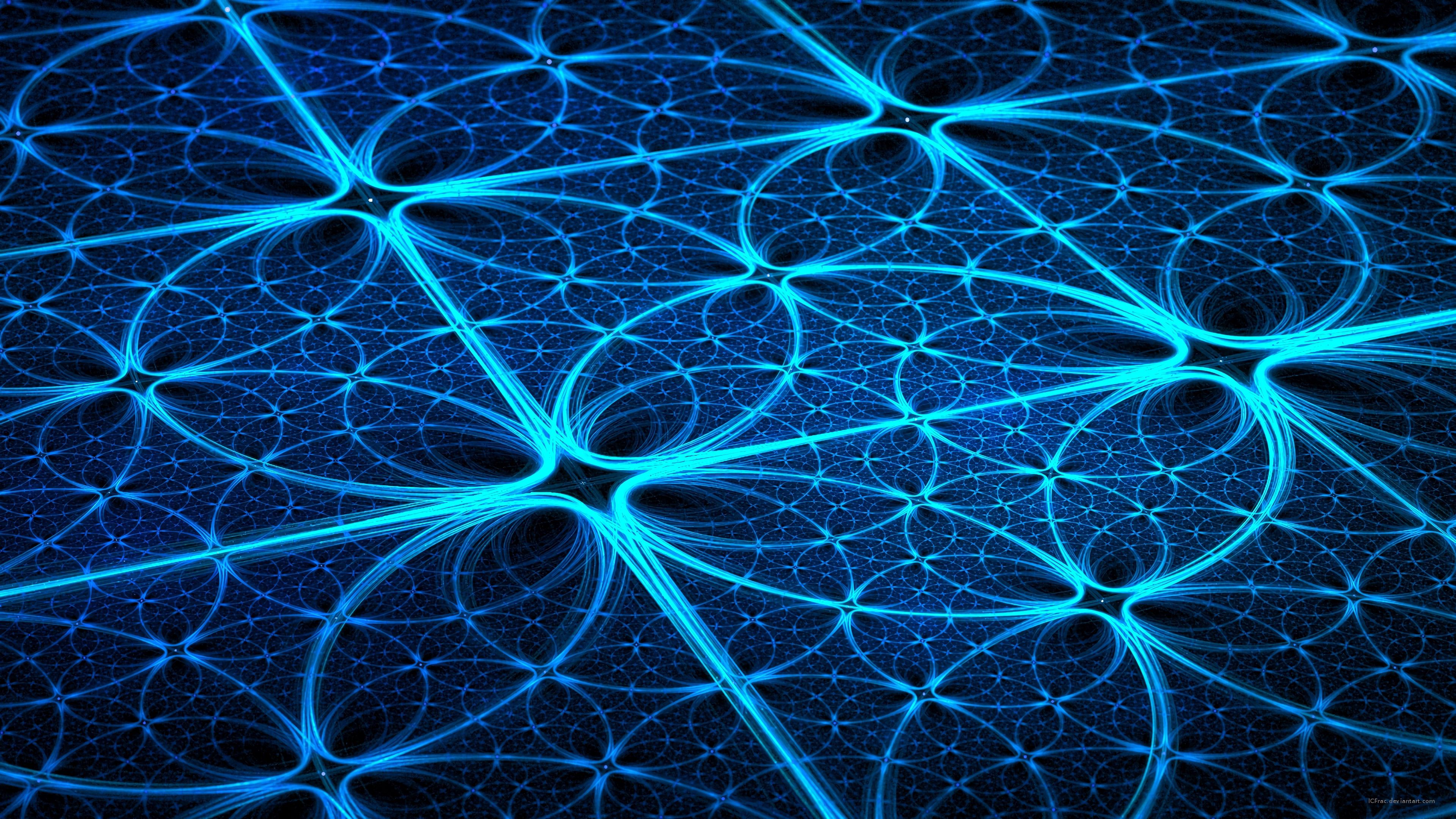 115533 download wallpaper Abstract, Fractal, Pattern, Confused, Intricate, Glow screensavers and pictures for free
