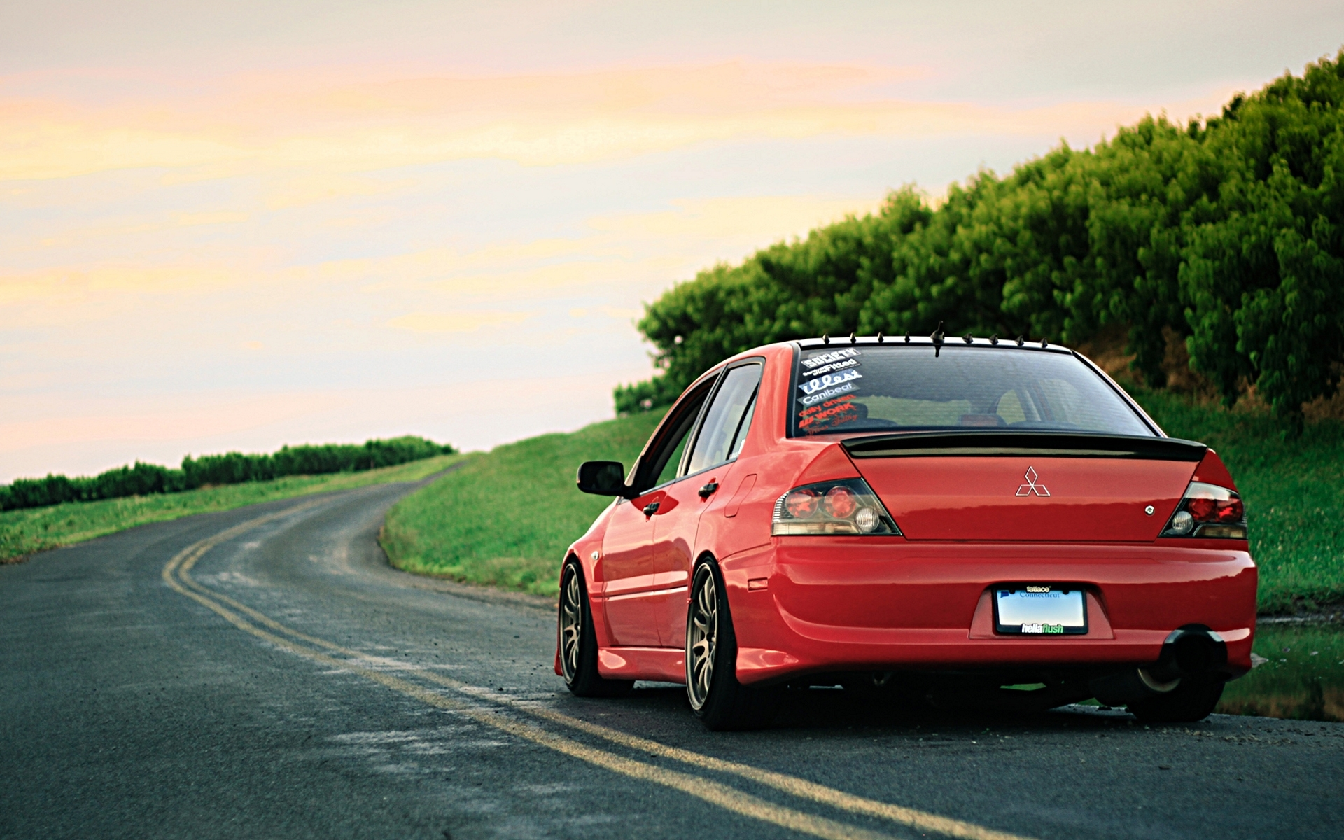 45122 download wallpaper Transport, Auto, Roads, Mitsubishi screensavers and pictures for free