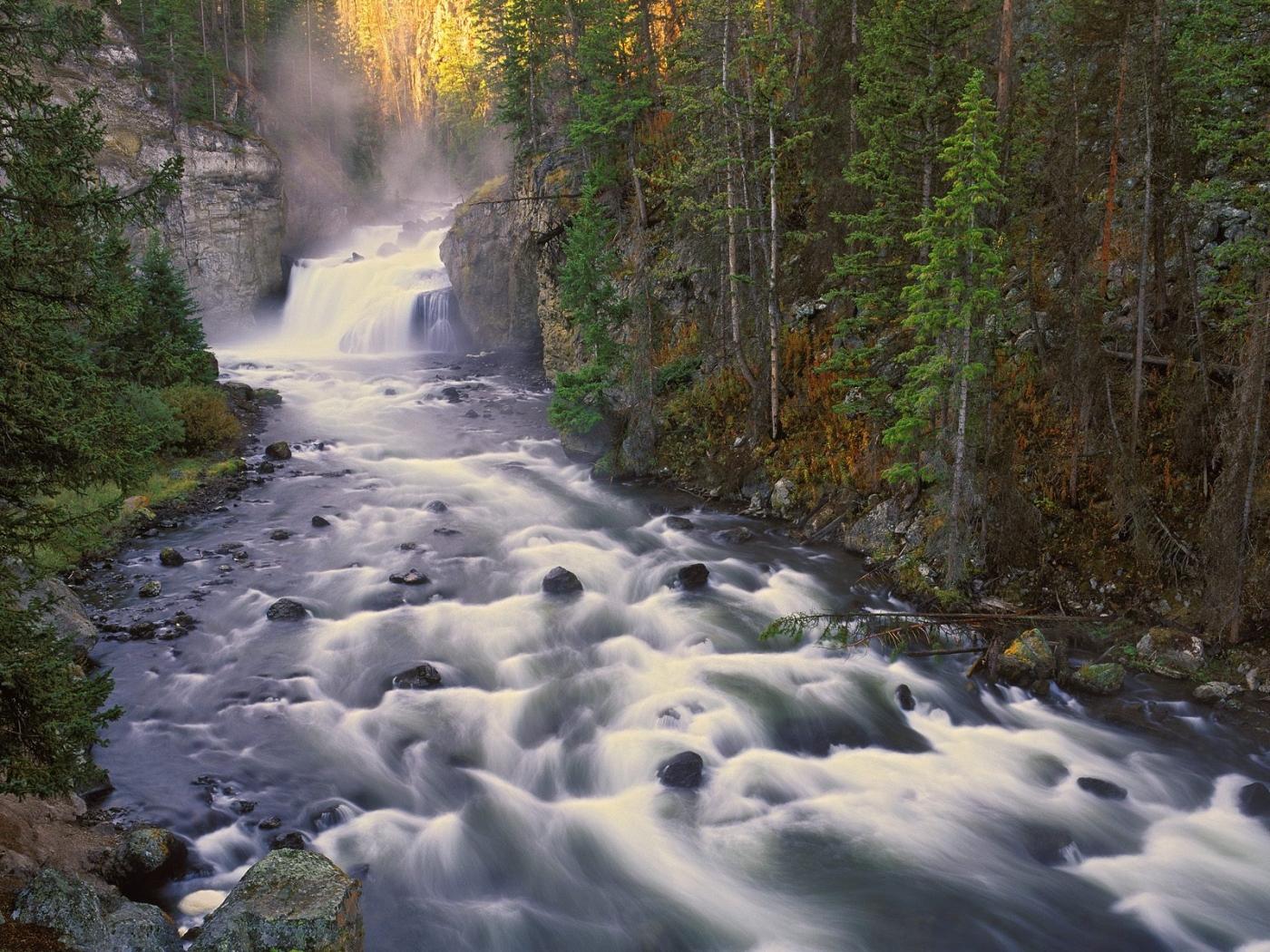 34334 скачать обои Пейзаж, Река, Водопады - заставки и картинки бесплатно