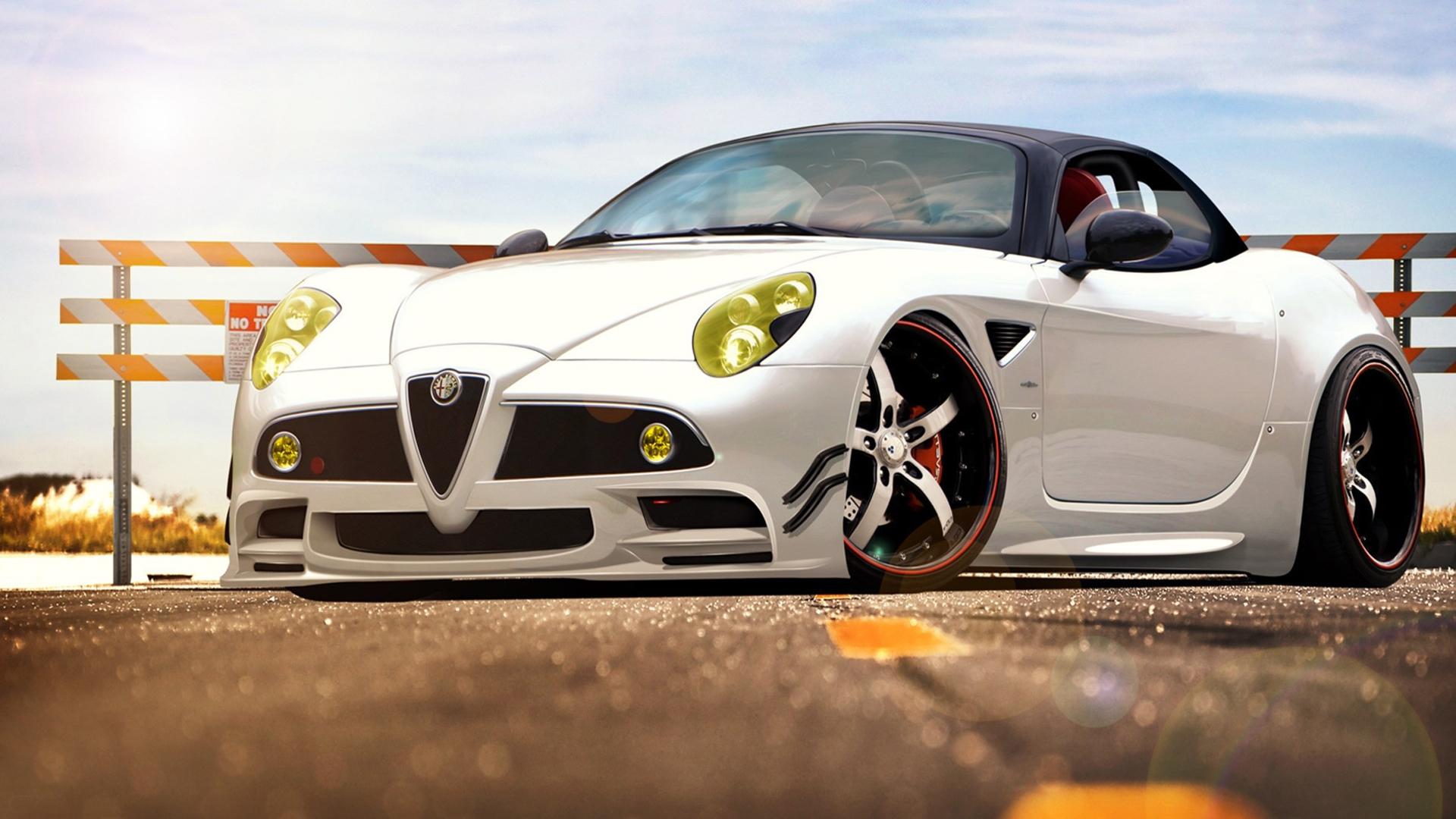 25546 скачать обои Транспорт, Машины, Альфа Ромео (Alfa Romeo) - заставки и картинки бесплатно