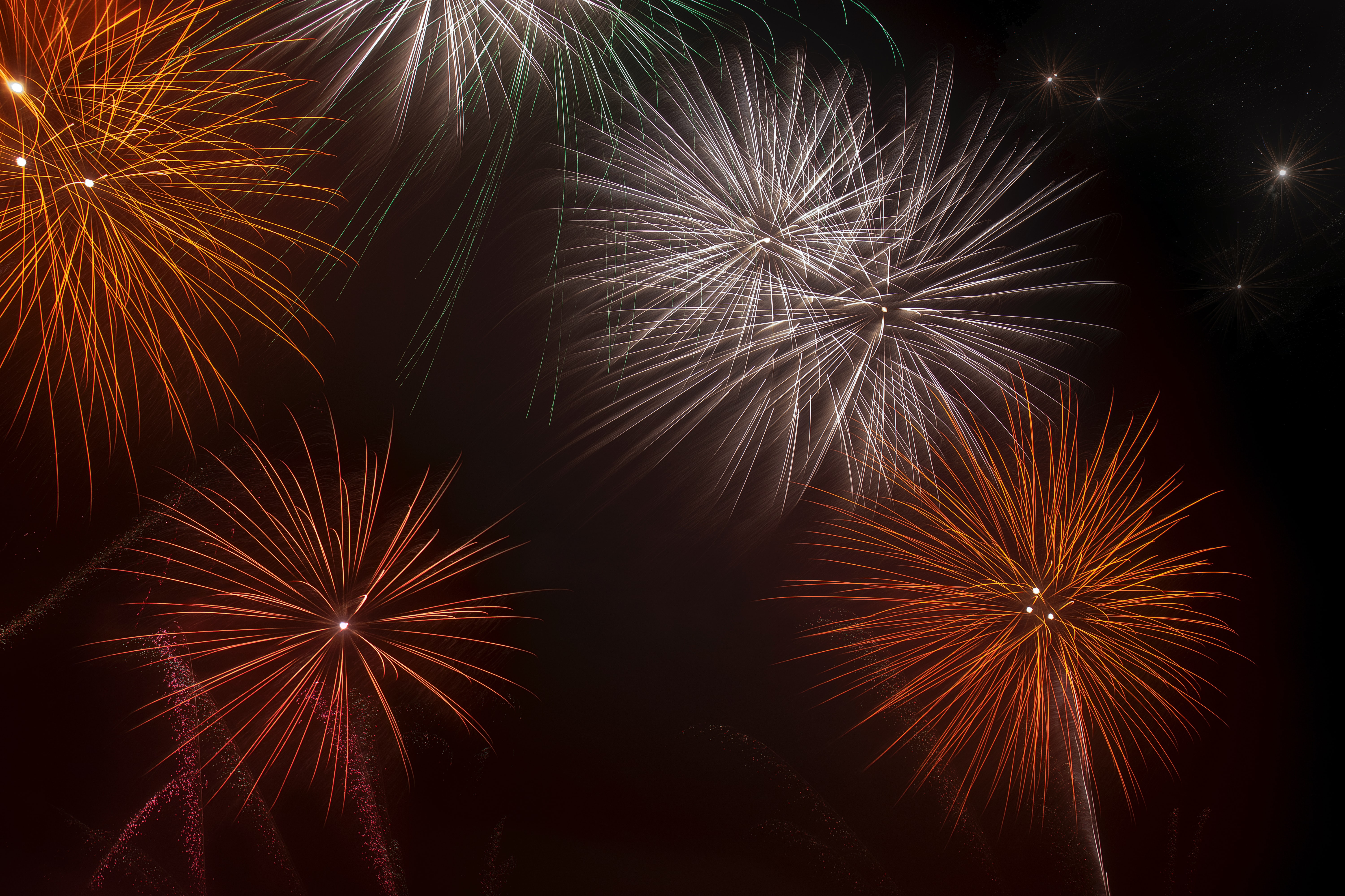 54833 Screensavers and Wallpapers Sparks for phone. Download Holidays, Sky, Night, Sparks, Holiday, Fireworks, Firework pictures for free