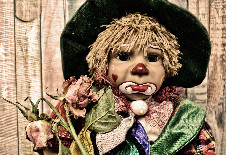 69045 免費下載壁紙 杂项, 小丑, 玩具娃娃, 娃娃, 悲伤 屏保和圖片