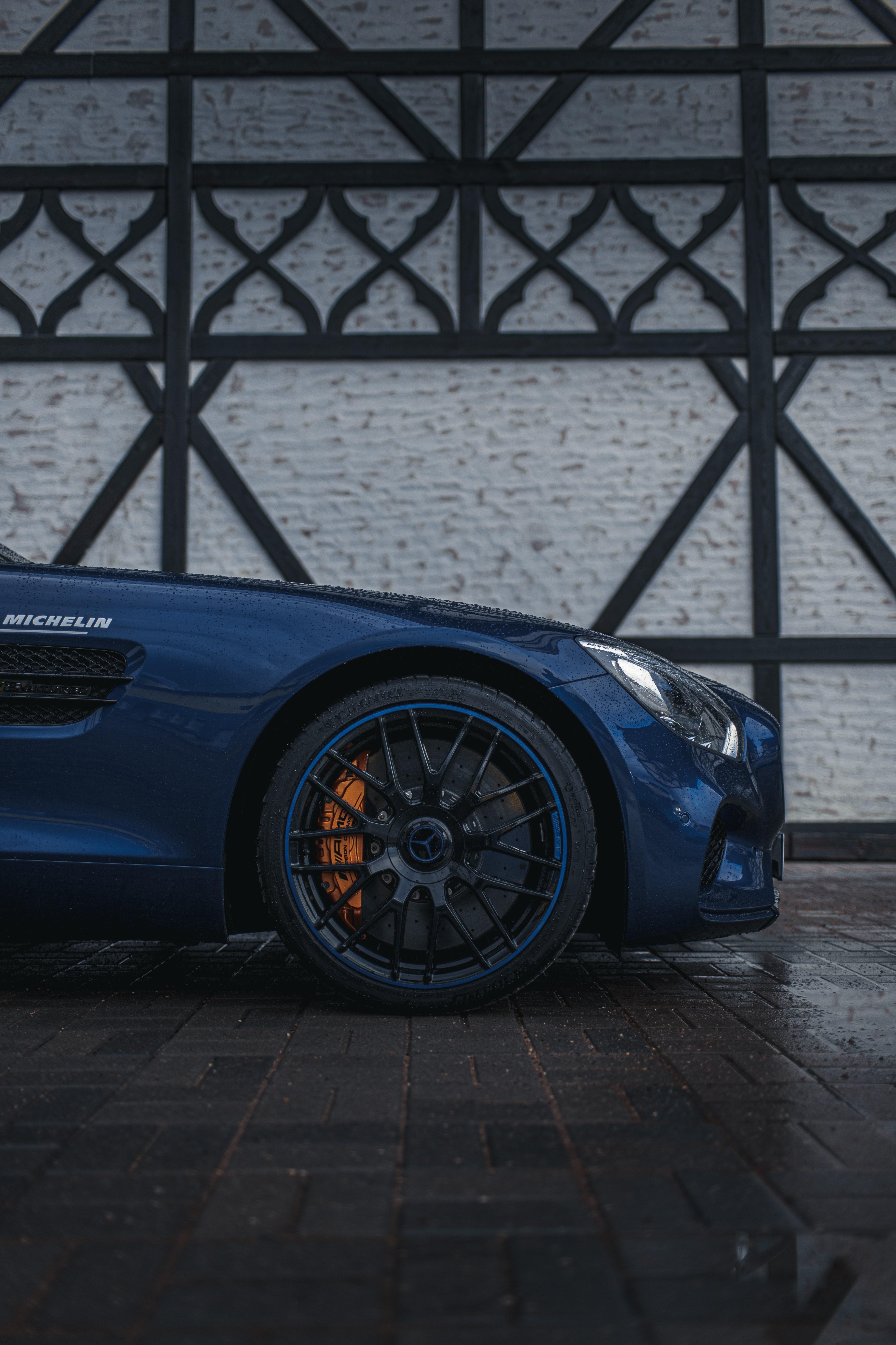 141125 Hintergrundbild herunterladen Auto, Mercedes, Drops, Cars, Nass, Wagen, Rad - Bildschirmschoner und Bilder kostenlos