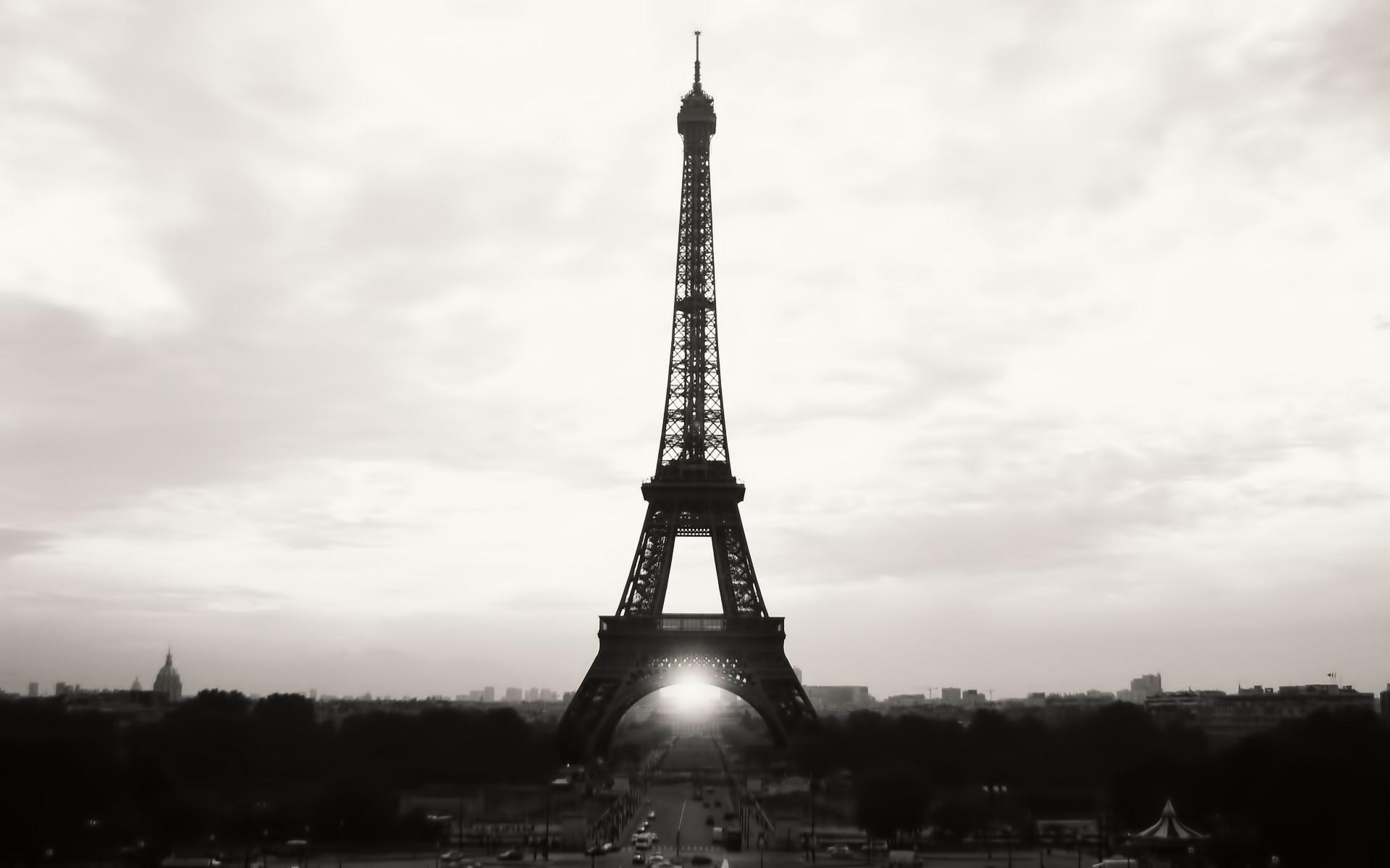 15502 скачать Белые обои на телефон бесплатно, Города, Архитектура, Париж, Эйфелева Башня Белые картинки и заставки на мобильный