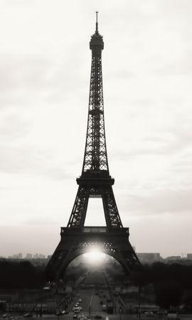 15502 скачать обои Города, Архитектура, Париж, Эйфелева Башня - заставки и картинки бесплатно